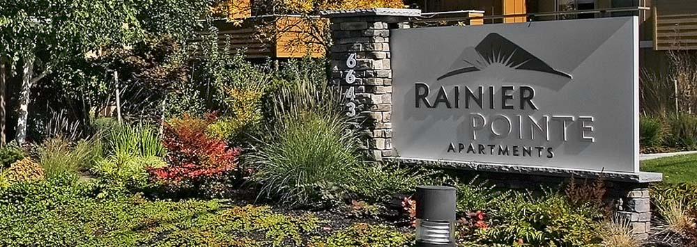 Welcome home to rainier pointe