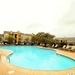 Resort pool near lake travis hill country