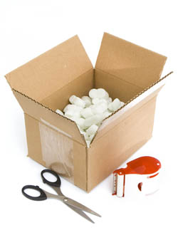 Packing and moving supplies are available for sale at Lock It Up self storage locations