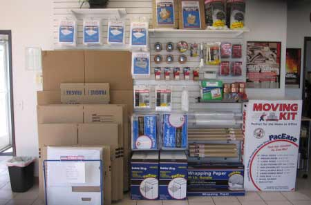 Parker 7 merchandise StorQuest Self Storage