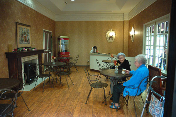 Community room at a senior living community in tyler