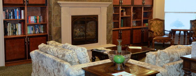 Comfortable living room featured at Alta Manor