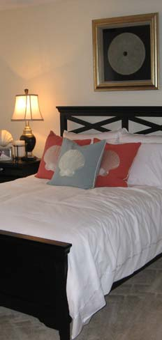 Spacious bedrooms at Holly Point Apartments, Chesapeake apartments
