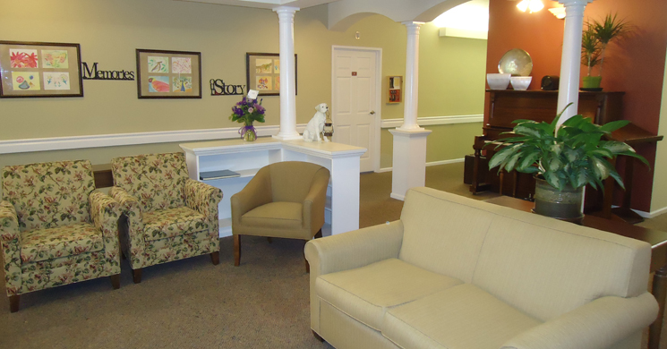 Stylish interiors at Garden Square of Greeley