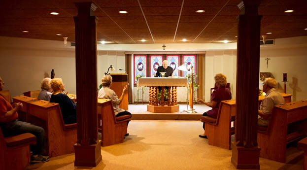 Senior living in Roseville includes a chapel for your spiritual needs