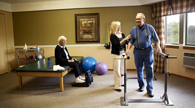 Rehabilitation at senior living in Grand Blanc will help get you back in your finest form