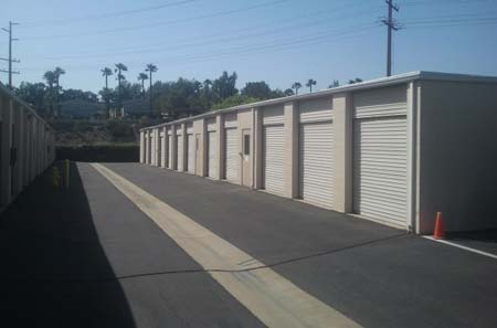 StorQuest Self Storage Temecula Exterior Units