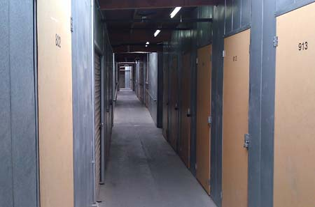Interior Storage Units at Temecula StorQuest
