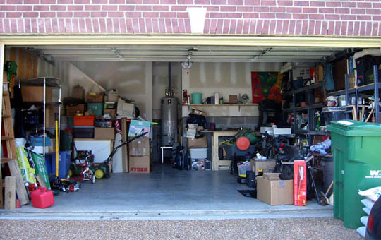 Messy garage storage solutions