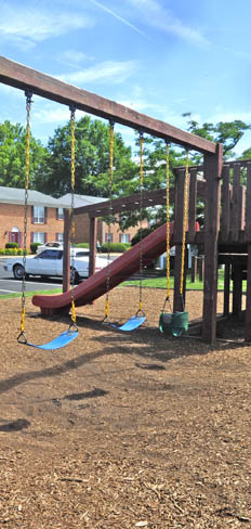 Newport News apartments have a playground for your kids