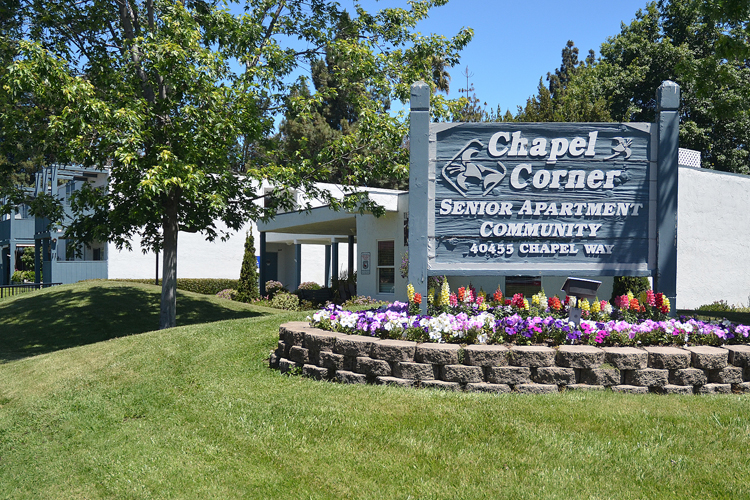 Beautiful grounds featured at Fremont senior living community