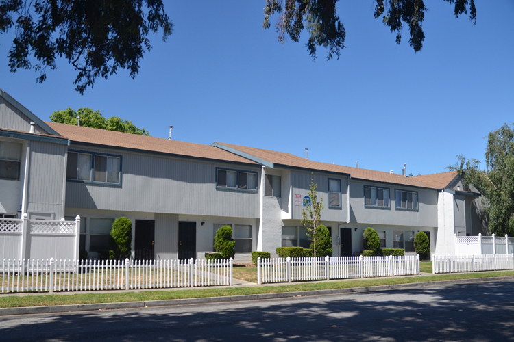 Trinity Townhomes features well designed buildings