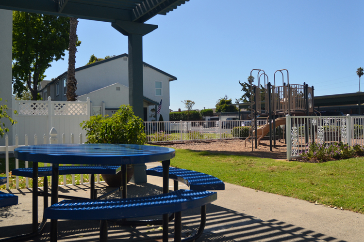 Fun playgrounds featured at Rosewood Townhomes