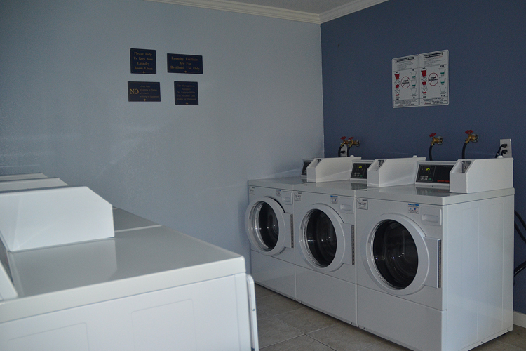 Wash machines featured at Union City apartment homes