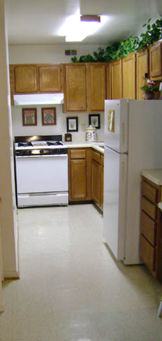 Apartments in Virginia Beach have kitchen with just the right appliances