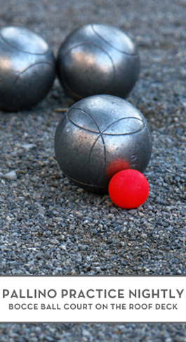 Amenities bocce