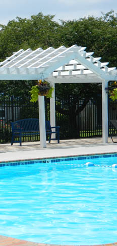 Apartments in Virginia Beach have a refreshing swimming pool