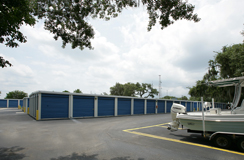 Inviting Sarasota storage units featured at Sarasota Metro Self Storage location.