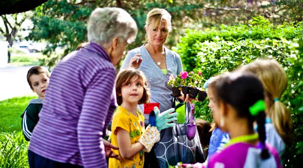 Bonita springs senior living gardening