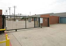 Euless storage units have gated entry.