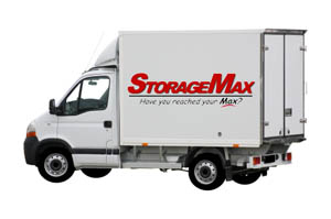 Free moving truck from StorageMax
