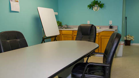 Tupelo self storage conference room
