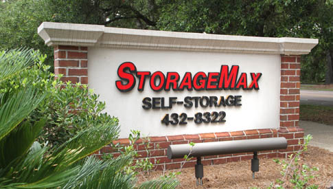 Storagemax midtown sign