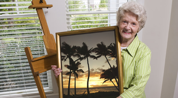 Bonita Springs Senior Living Art Class