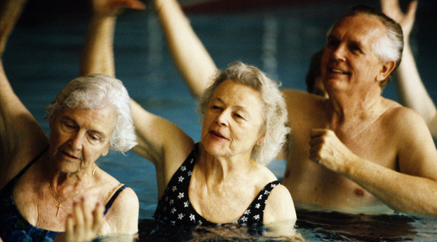 Bonita Springs Senior Living Senior Fitness Swimming Class