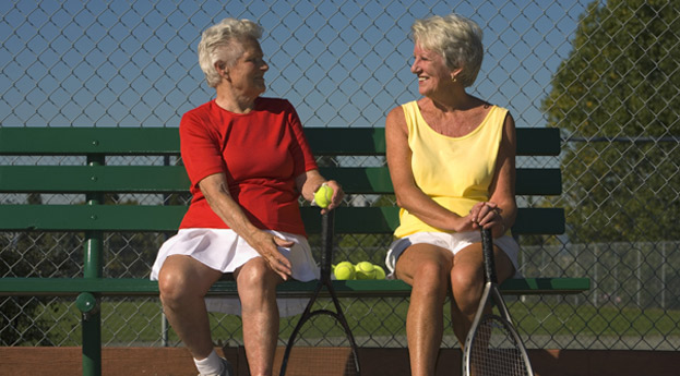 Bonita Springs Senior Living Tennis Group