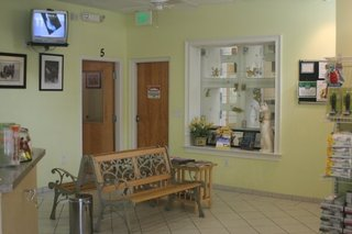 Quail hollow animal hospital waiting room