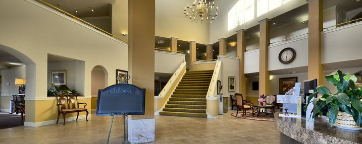 The terraces of roseville dining room entry way
