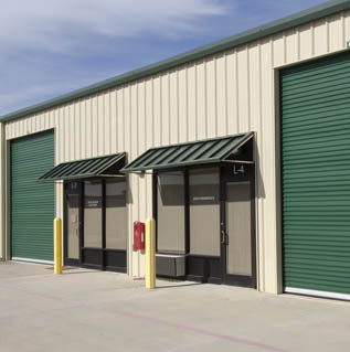 Office warehouses at Private Mini Storage