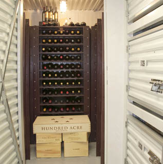 Wine storage at Private Mini