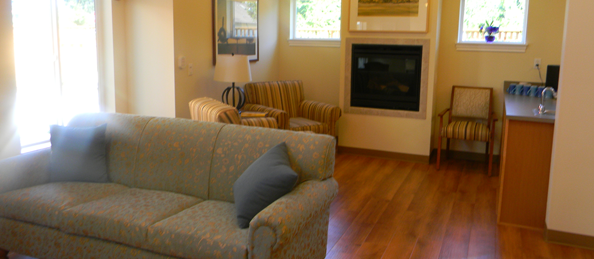 Marysville Memory Care Living Room