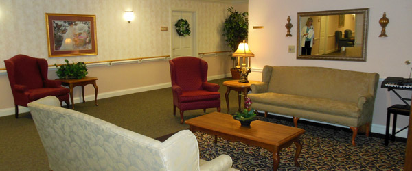 Foyer at brandon fl senior living community