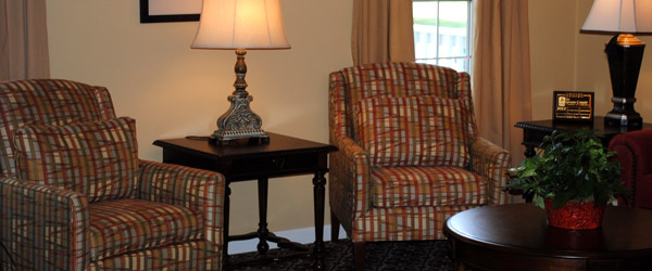 Greensboro ga senior living community room