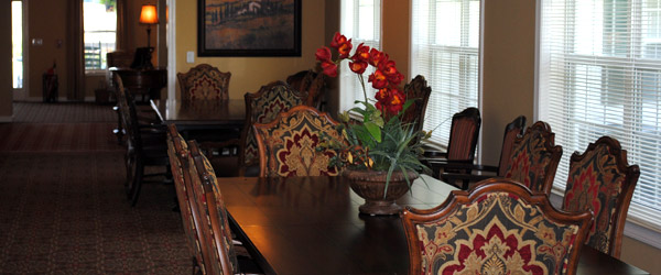 Greensboro ga senior living dining