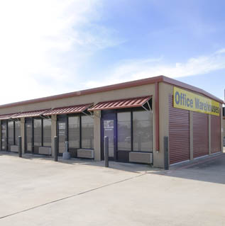 Private Mini industrial warehouse rentals