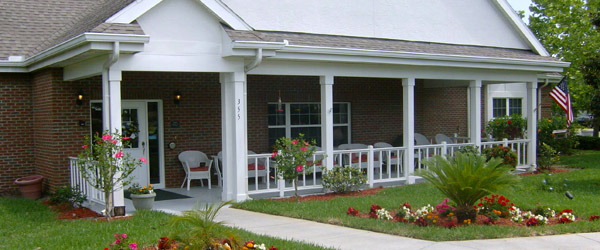 Oviedo senior living porch