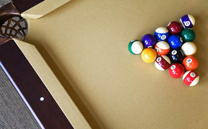 Apartment community pool table Home Taken Seriously