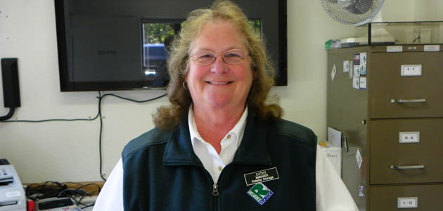Cathy is a manager at self storage in Bremerton