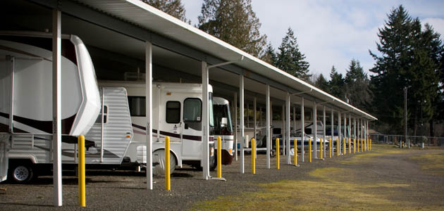 Learn more about covered RV and boat storage in Kingston