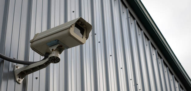 Security cameras keep a watchful eye at self storage in Poulsbo