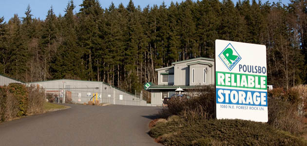 Welcome to self storage in Poulsbo, WA
