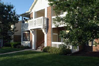 1, 2 & 3 bedroom apartments in Overland Park, KS available at Lexington Farms Apartment Homes