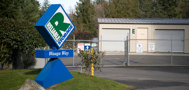 Welcome to self storage in Bremerton, Waaga Way