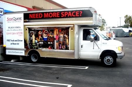Rent a truck from self storage in Los Angeles