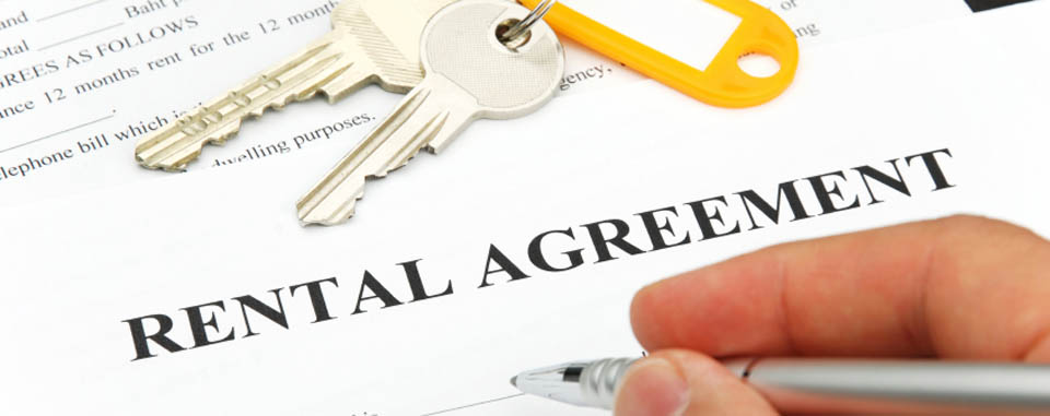 Rental agreement at elon apartments