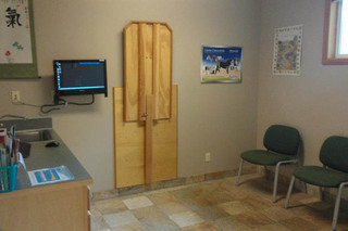 Exam room 3 at Port Angeles animal clinic